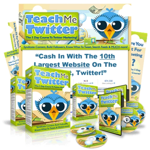 Product picture How to Use Twitter - 5 Days Course on Twitter Marketing